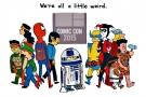 We're All a Little Weird (Comic Strip)