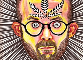 Artist Draws Psychedelic Self-Portraits While On Different Drugs (Gallery)