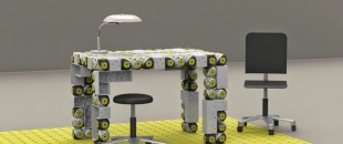 Shape Shifting Robots Transform into Adaptive Futuristic Furniture (Video)