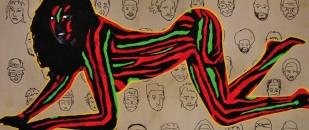 TTK Hip Hop Paintings, Surreal Art Gallery