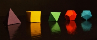 Metaphysical Aspects of the 5 Platonic Solids