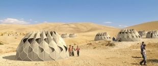 Weaving a Home: Collapsible Woven Refugee Shelters
