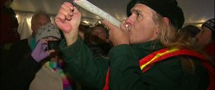 Legal Cannabis Anniversary in Seattle (Video)