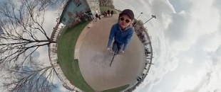 Trip Around a Little Planet, Spherical Timelapse (Video)