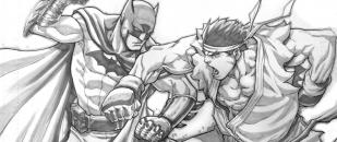 Street Fighter Artist, Jog Ng Pencil Sketch Art Gallery