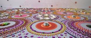 Kaleidoscopic Crystal Floor Installations by Suzan Drummen (Photo Gallery)