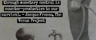 Rationing Earth's Resources Through Monetary Control is Wasteful – Jacque Fresco