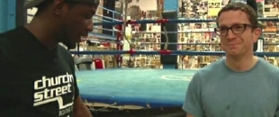 Funny Boxing Trainer Clowns His Rich Unathletic Students (Video)