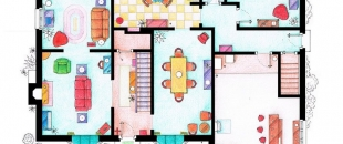 Famous Floor Plans from Television History (Gallery)