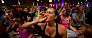 Getting High During Yoga Is An Ancient Practice