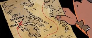Ithaka – Enjoy the Journey of Life (Comic Strip)