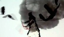 Shadow Fights – Japanese Performers Combine Live Action, Video Projection (Video)