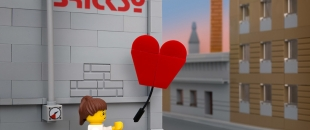 Bricksy Strikes Again: Famous Banksy Street Art Magically Remade Using LEGOs