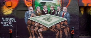 Mear One & Nosaj Thing – The Economic Monopoly of the Ruling Class, Street Art Stop Motion (Video)