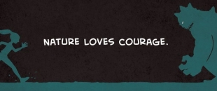 Nature Loves Courage – Terence Mckenna (Comic Strip)