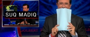 Funny Stephen Colbert Moments (Video)